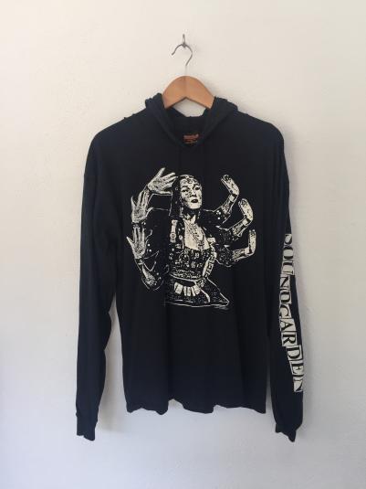 Vintage 90s Soundgarden Tshirt Hoodie
