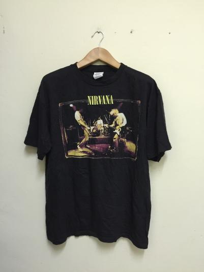 90s Nirvana From The Muddybanks Of The Wishkah Tshirt