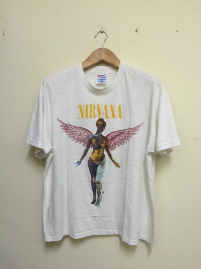 90s Nirvana In Utero Tshirt