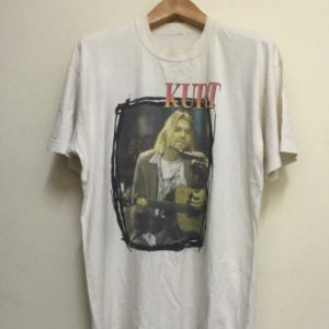 90s Kurt Cobain Nirvana Tshirt