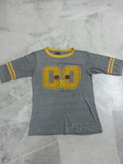 vintage garfield jim davis jersey t shirt