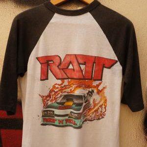 Vintage Ratt Dancing Undercover Tour 1987 Signal
