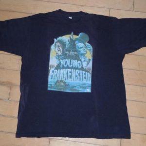 1974 Young Frankenstein Gene Wilder Movie Promo T-shirt