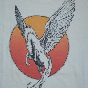 Vintage 1973 William Stout Comic Fantasy Art PEGASUS Shirt
