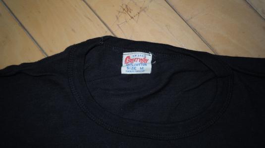 Rare Vintage 1970's 70's BEATLES rock concert tour shirt