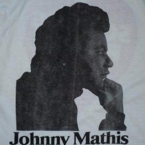 RARE 1973 Johnny Mathis Killing Me Softly album promo Shirt