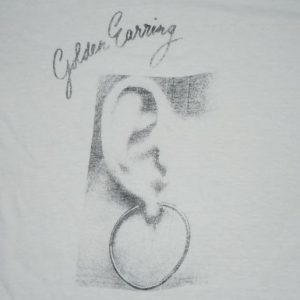Vintage 1973 Golden Earring Moontan Rock Album Promo Shirt