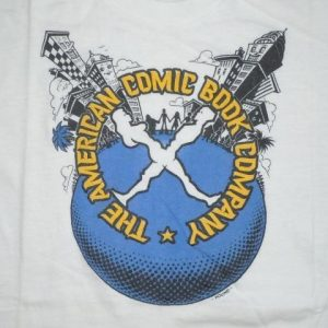 Vintage 70s The American Comic Book Company John Pound Shirt