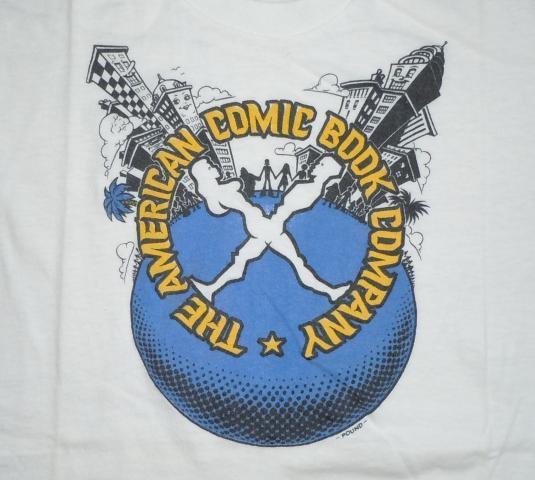 Vintage 70s The American Comic Book Company John Pound Shirt