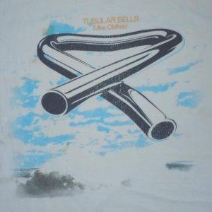 Vintage 1973 Mike Oldfield Tubular Bells Album Promo Shirt