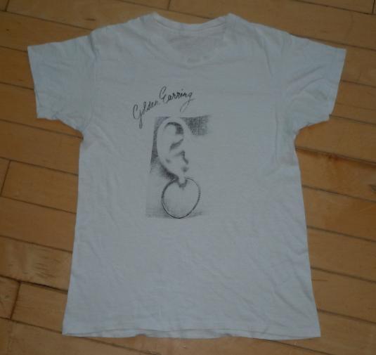 Vintage 1973 Golden Earring Moontan Rock Album Promo Shirt