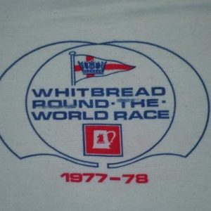 Vintage 1977-78 Whitbread Round the World Yacht Race Shirt