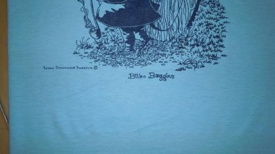 Vintage 1970's 70's Lord of the Rings BILBO BAGGINS shirt