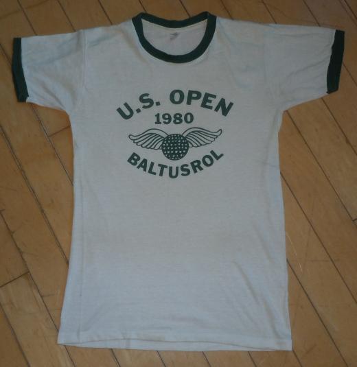 Vintage 1980 80s US Open Golf Major JACK NICKLAUS T-Shirt