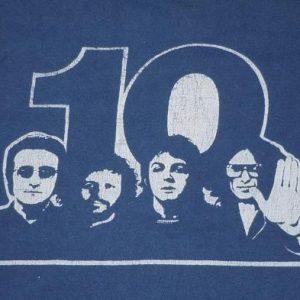 Vintage 1970's 70's 1974 BEATLES 10th Anniversary Rock Shirt