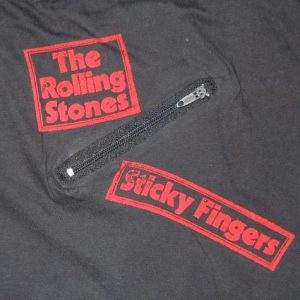 Vintage 1971 Rolling Stones Sticky Fingers Album Promo Shirt