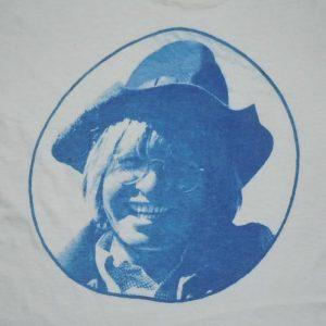 Rare 1970's 70's John Denver photo print folk rock Shirt