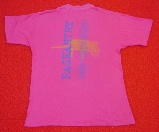 Vintage 1986 80s R.E.M REM Pageatry Tour Concert T-Shirt