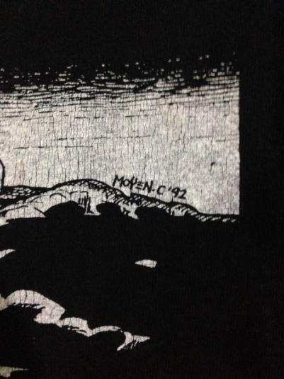 Vintage 1994 Incantation Mortal Throne Of Nazarene T-shirt