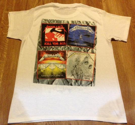 Vintage 1988 Metallica And Justice For All T-Shirt