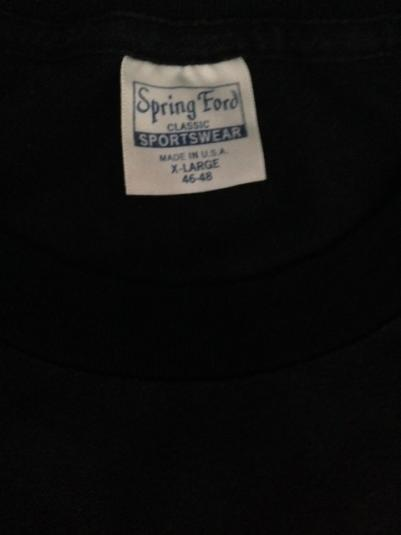 Vintage 1986 Billy Idol Whiplash Smile Tour T-Shirt 50/50 XL