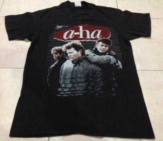 Vintage 1986 A-HA T-Shirt New Wave