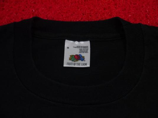 Vintage 90s Slayer Slaytanic Wehrmacht 1989 Tour T-Shirt