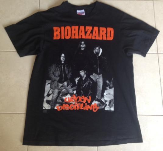 VINTAGE 1992 BIOHAZARD URBAN DISCIPLINE NYHC