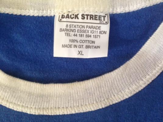 Vintage 90s The Bluetones Ringer T-Shirt Britpop Indie XL/L