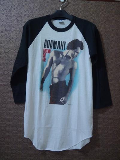 1983 ADAM ANT 1st Solo Album Friend or Foe T-SHIRT