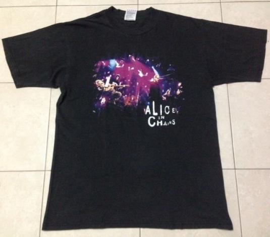 Vintage 1996 Alice In Chains Unplegged T-Shirt