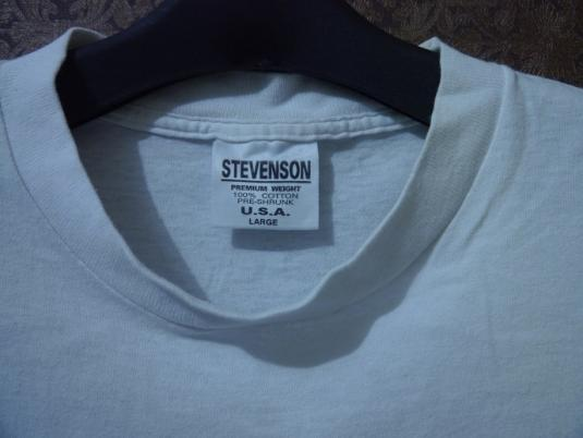 1992 PEARL JAM Don't Give Up European Summer Tour T-Shirt