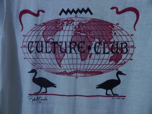 1984 CULTURE CLUB Boy George