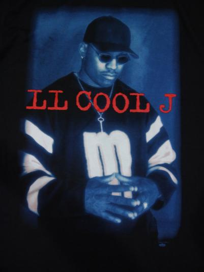 Vintage 90s LL Cool J Mr SmithRAp Hip Hip T-Shirt