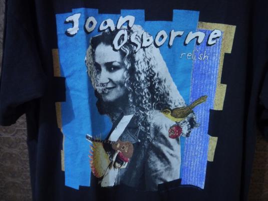 RARE 1996 JOAN OSBORNE Relist Album T-SHIRT