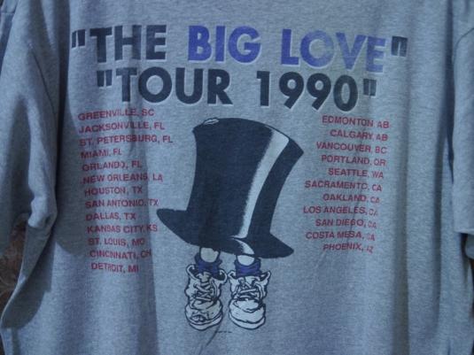 1990 MR BIG The Big Love US Tour T-SHIRT