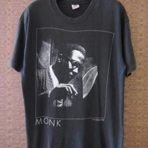 1990 THELONIOUS MONK Jazz T-SHIRT