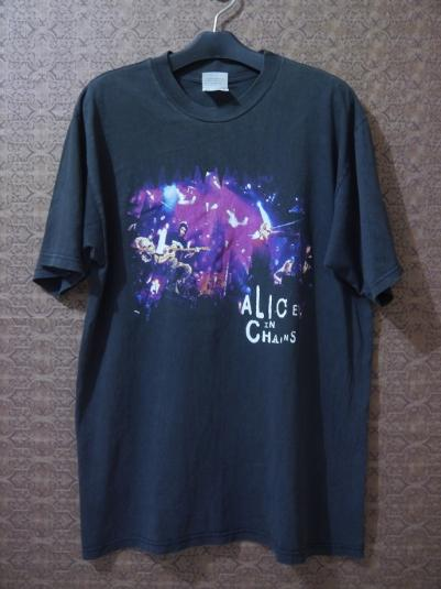 1996 ALICE IN CHAINS MTV Unplugged T-Shirt