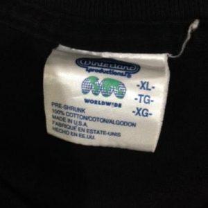 Vintage 1998 The Doors T-Shirt XL Winterland 90s