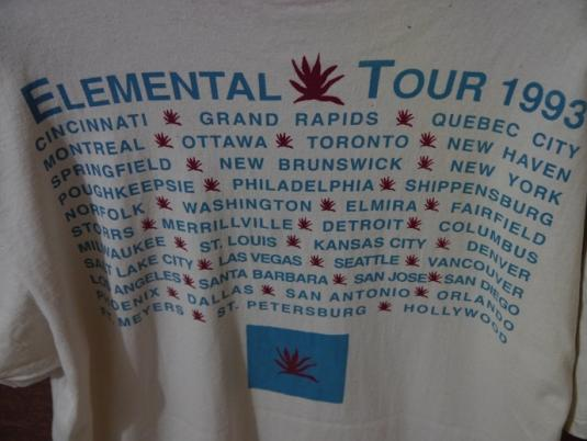 1993 TEARS FOR FEARS Elemental Tour
