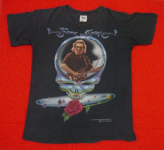 Vintage 90s Jerry Garcia Self Potrait Grateful Dead T-Shirt