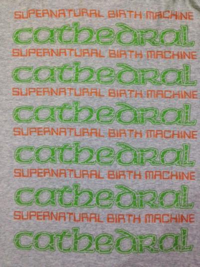 Vintage 1996 cathedral T-Shirt Doom Metal 90s M/L