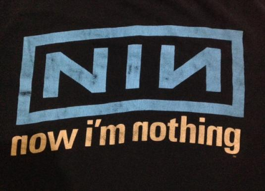 Vintage 90s Nine Inch Nails T-Shirt 90s XL