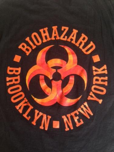 Vintage 1992 Biohazard Urban Discipline