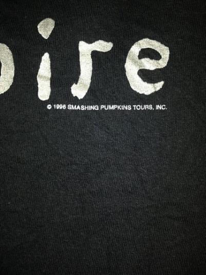 Vintage 1996 The Smashing Pumpkins Tour T-Shirt