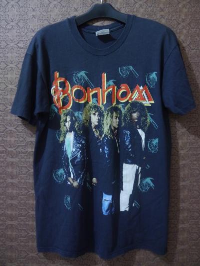 1989 – 1990 BONHAM Timekeeping Tour T-Shirt