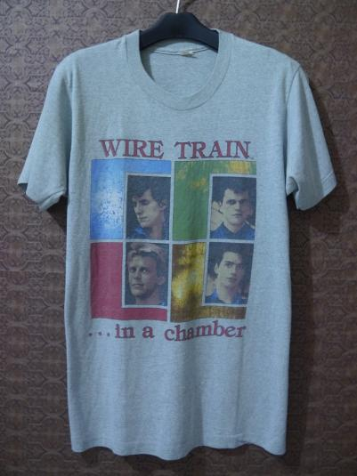 1984 WIRE TRAIN In a Chamber Tour T-shirt 80s