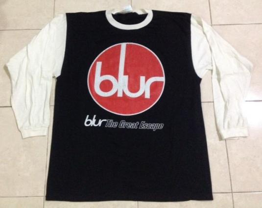 Vintage 1995 Blur Long Sleeve Tour T-Shirt