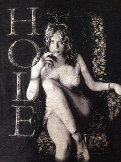 Vintage 1999 Hole Courtney Love T-Shirt