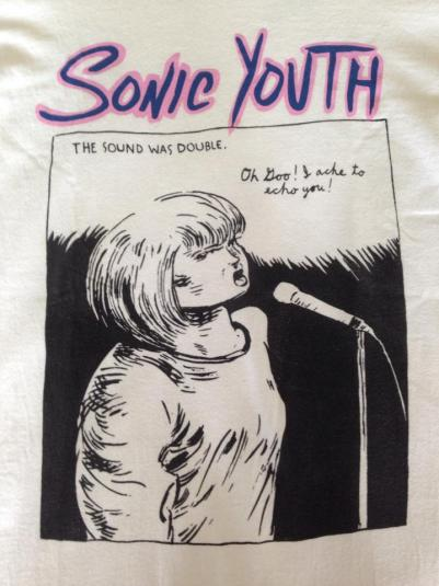VINTAGE 90'S SONIC YOUTH T SHIRT
